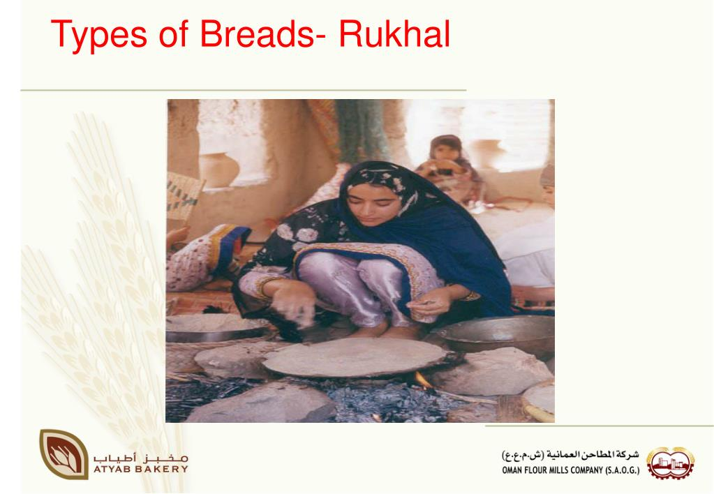 Types of Breads- Rukhal