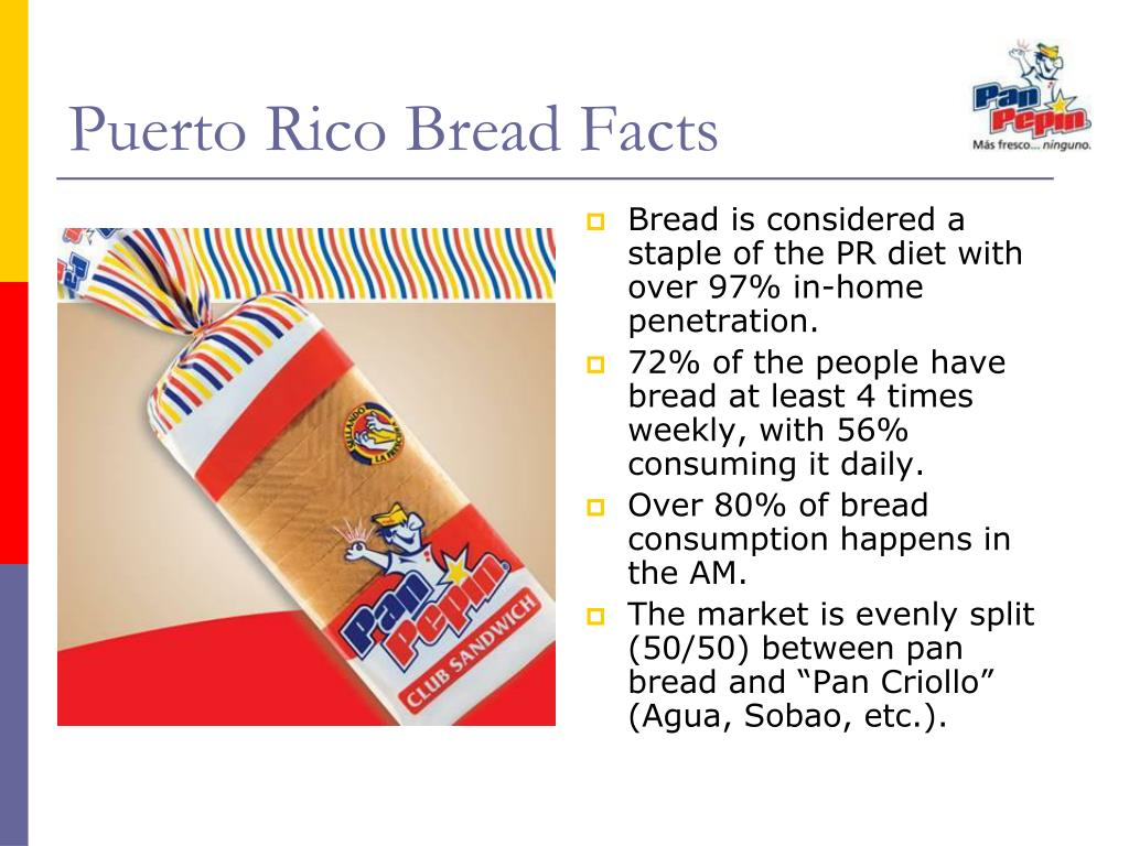 Puerto Rico Bread Facts
