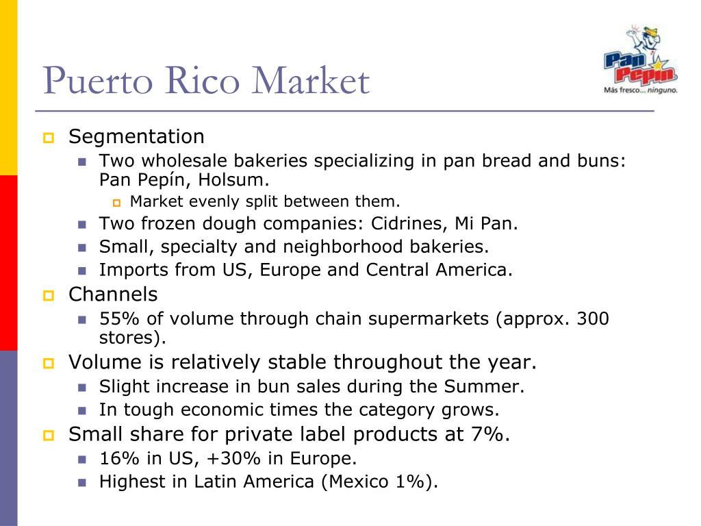 Puerto Rico Market