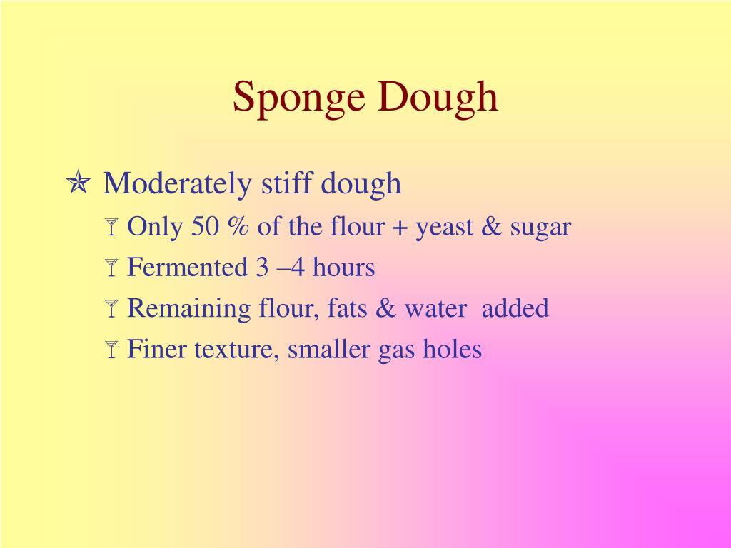 Sponge Dough