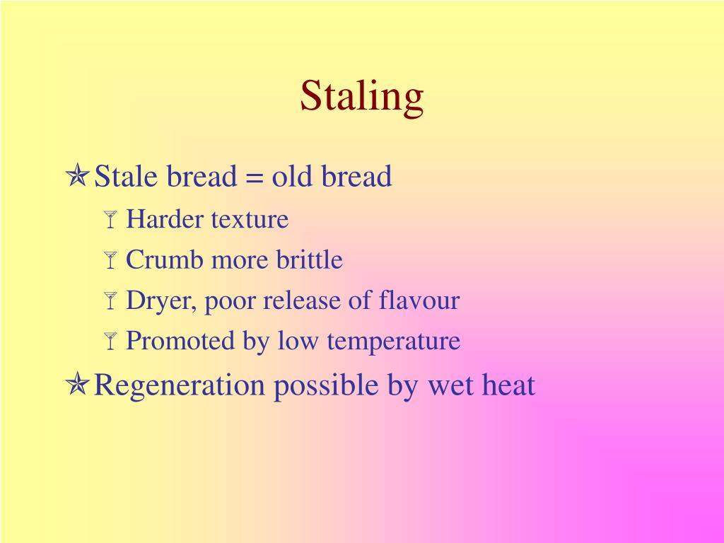 Staling