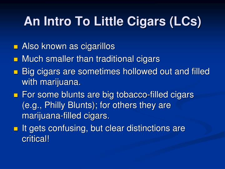 An Intro To Little Cigars (LCs)