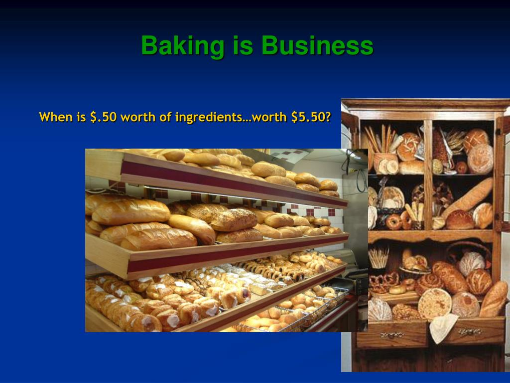 Baking is Business