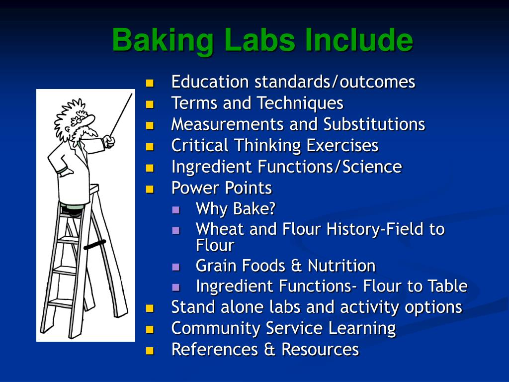 Baking Labs Include