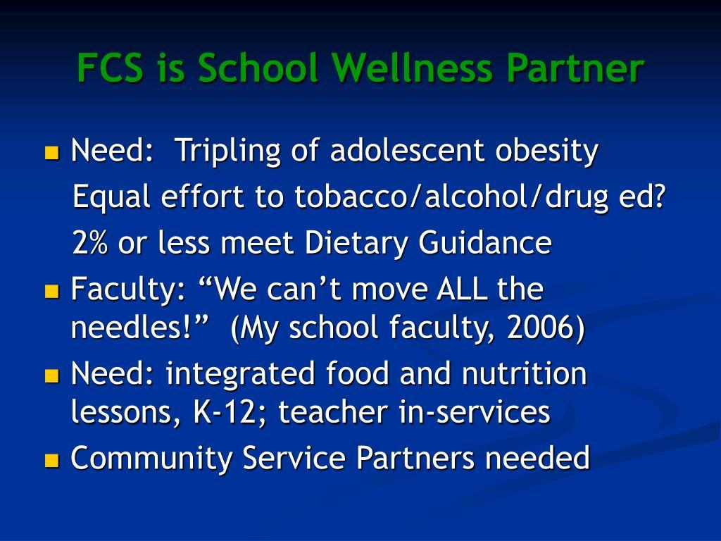 FCS is School Wellness Partner