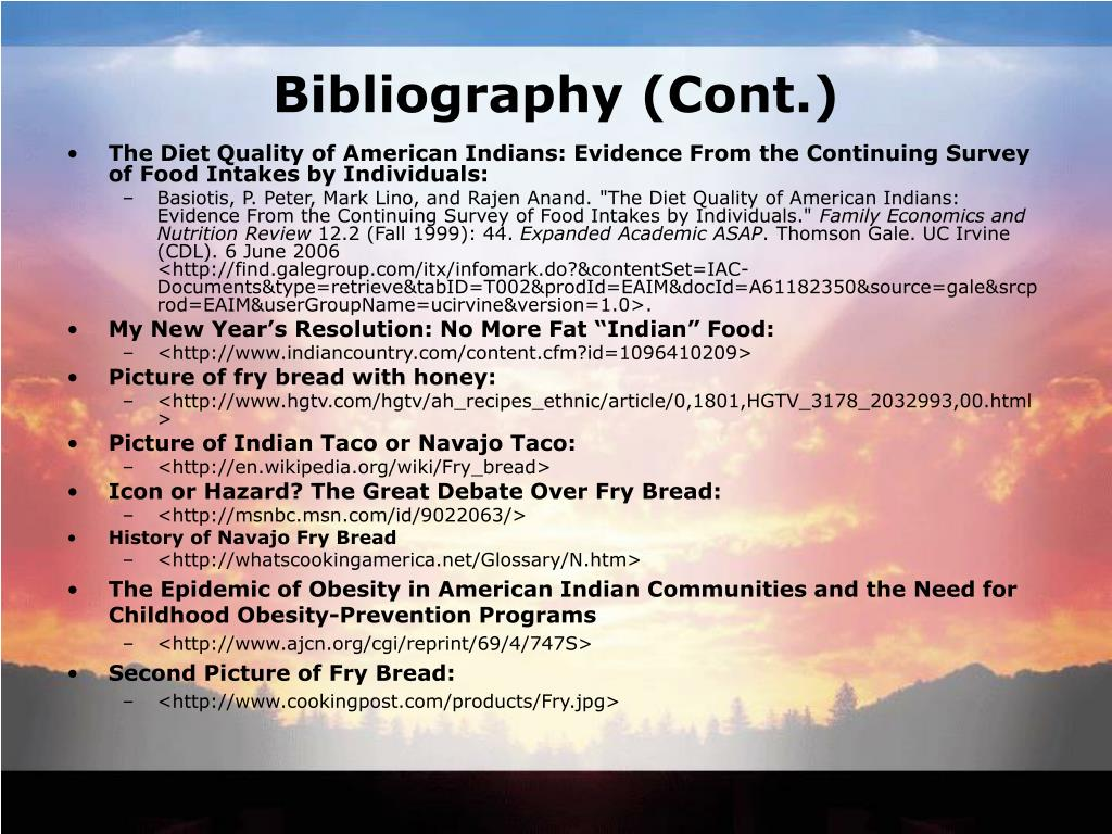 Bibliography (Cont.)
