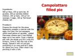 campolattaro filled pie