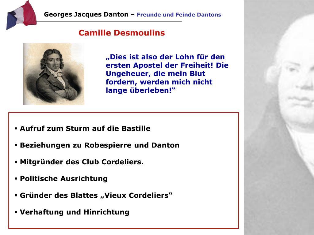 Georges Jacques Danton –