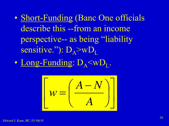 Short-Funding
