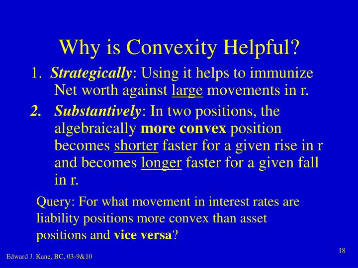Why is Convexity Helpful?