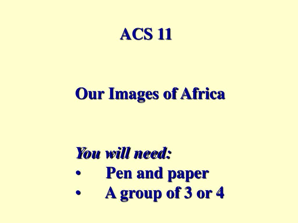 ACS 11