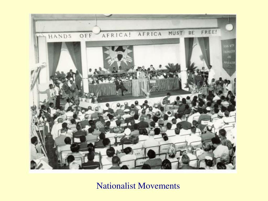 Nationalist Movements