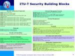 itu t security building blocks