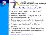 plan of action action line c5