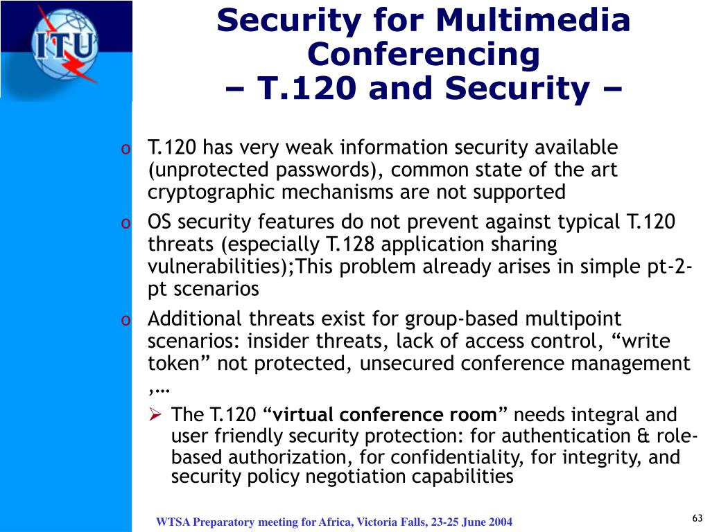Security for Multimedia
