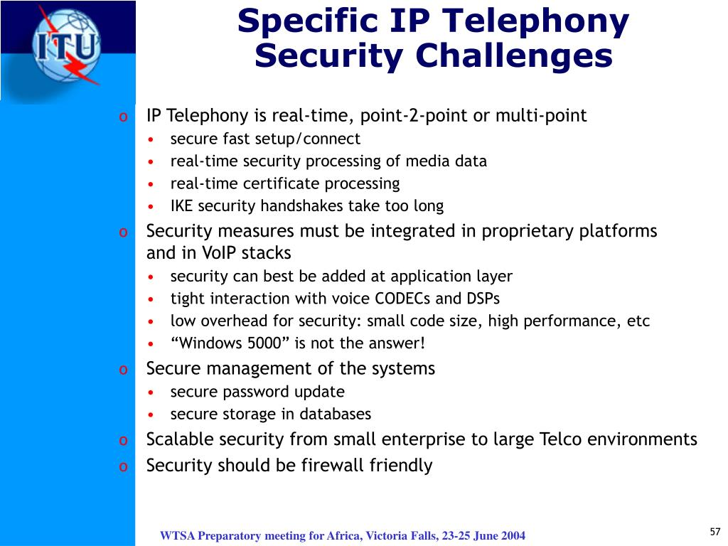 Specific IP Telephony