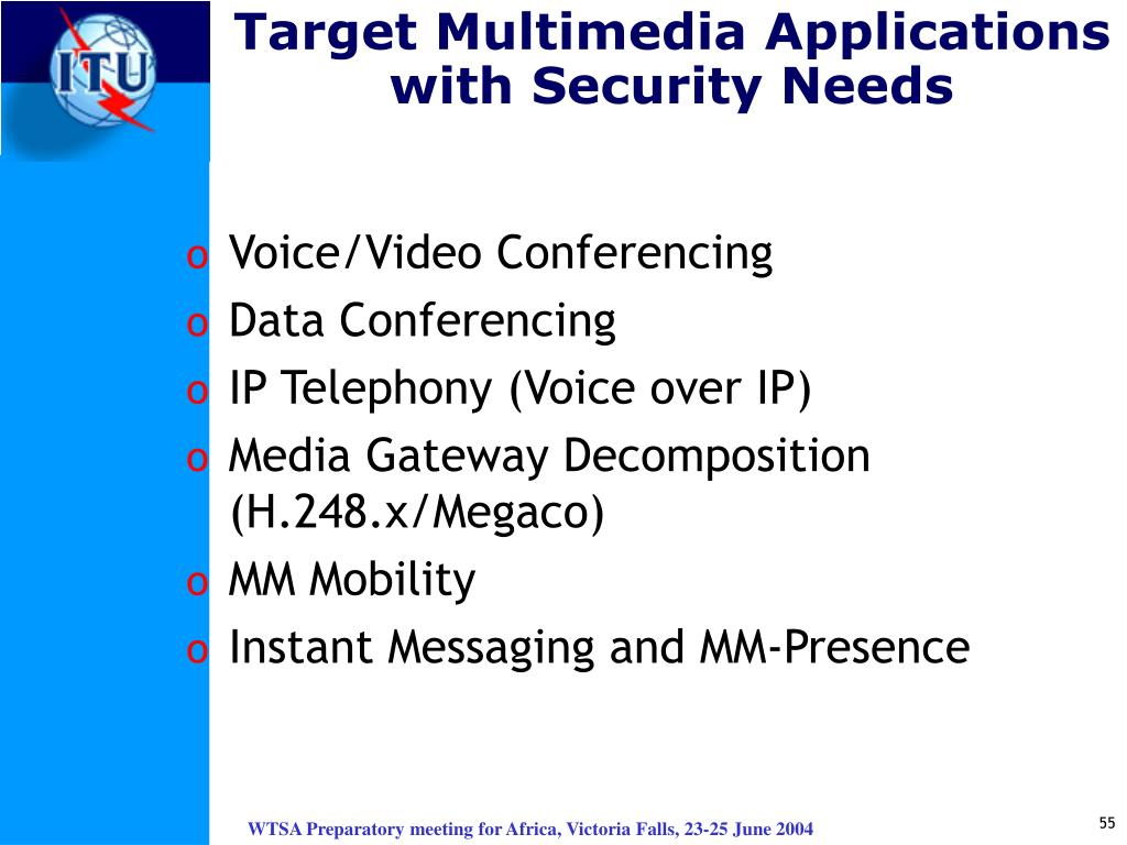 Target Multimedia Applications