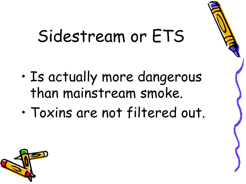 Sidestream or ETS