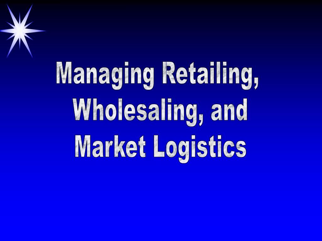 Managing Retailing,