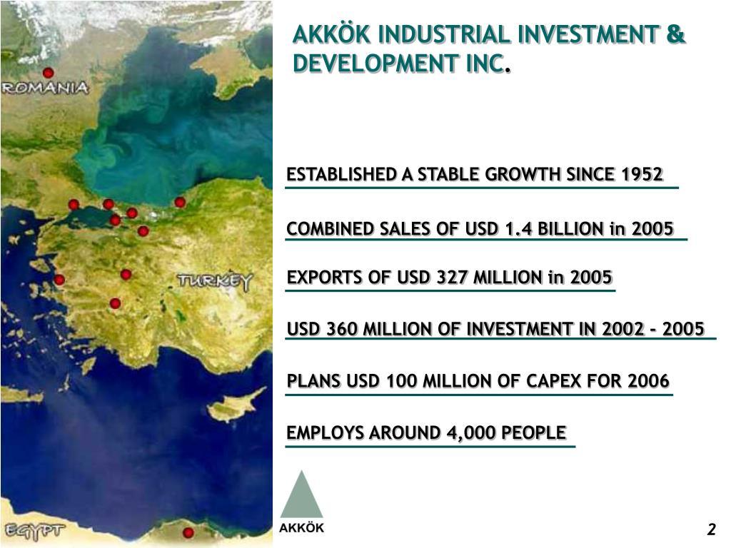 AKKÖK INDUSTRIAL INVESTMENT
