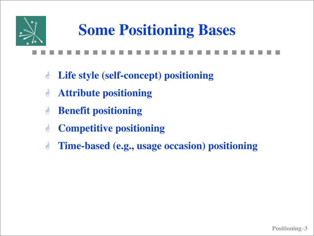 Some Positioning Bases