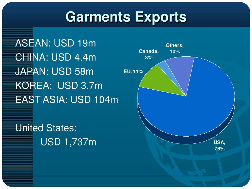 Garments Exports