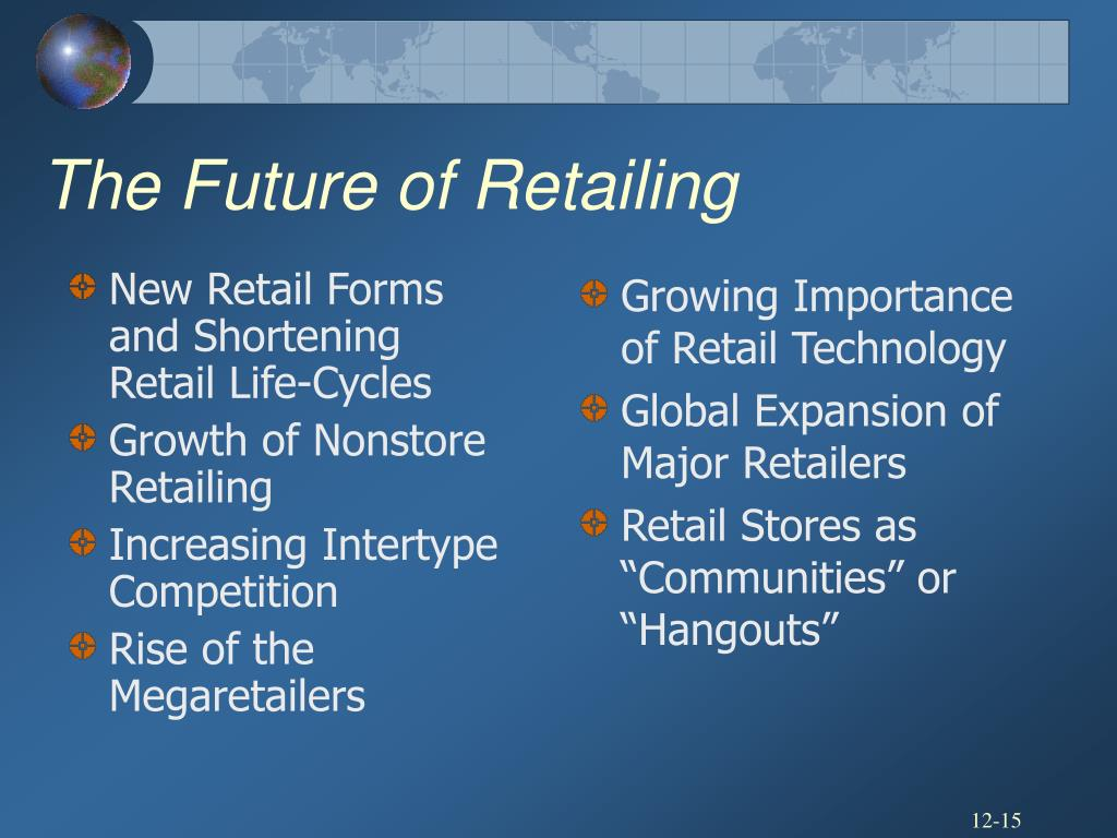 New Retail Forms and Shortening Retail Life-Cycles