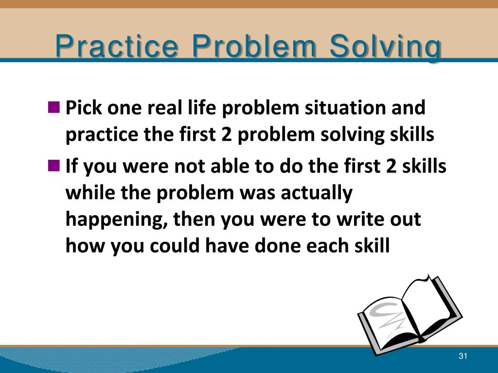 Problem Solving Scenarios For Kids