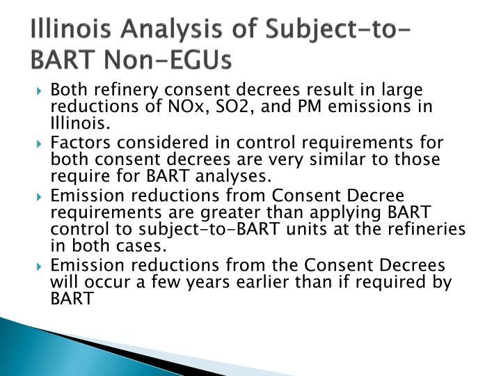 Illinois Analysis of Subject-to-BART Non-EGUs