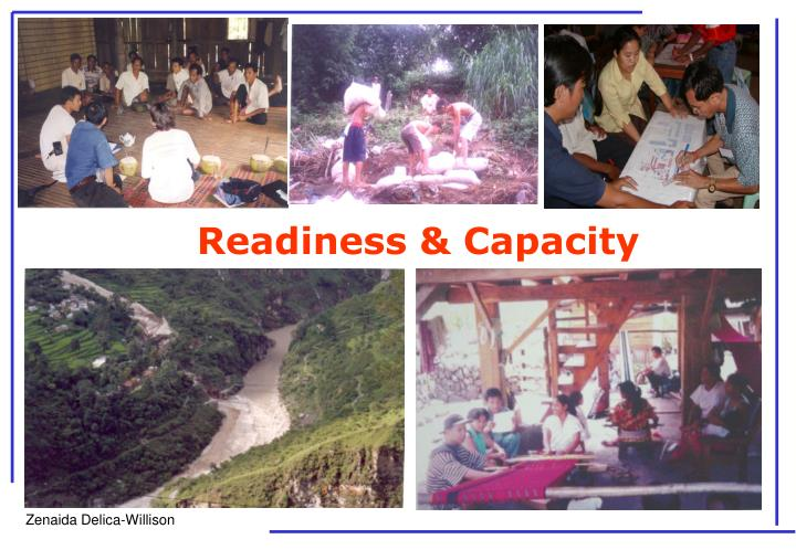 Readiness & Capacity