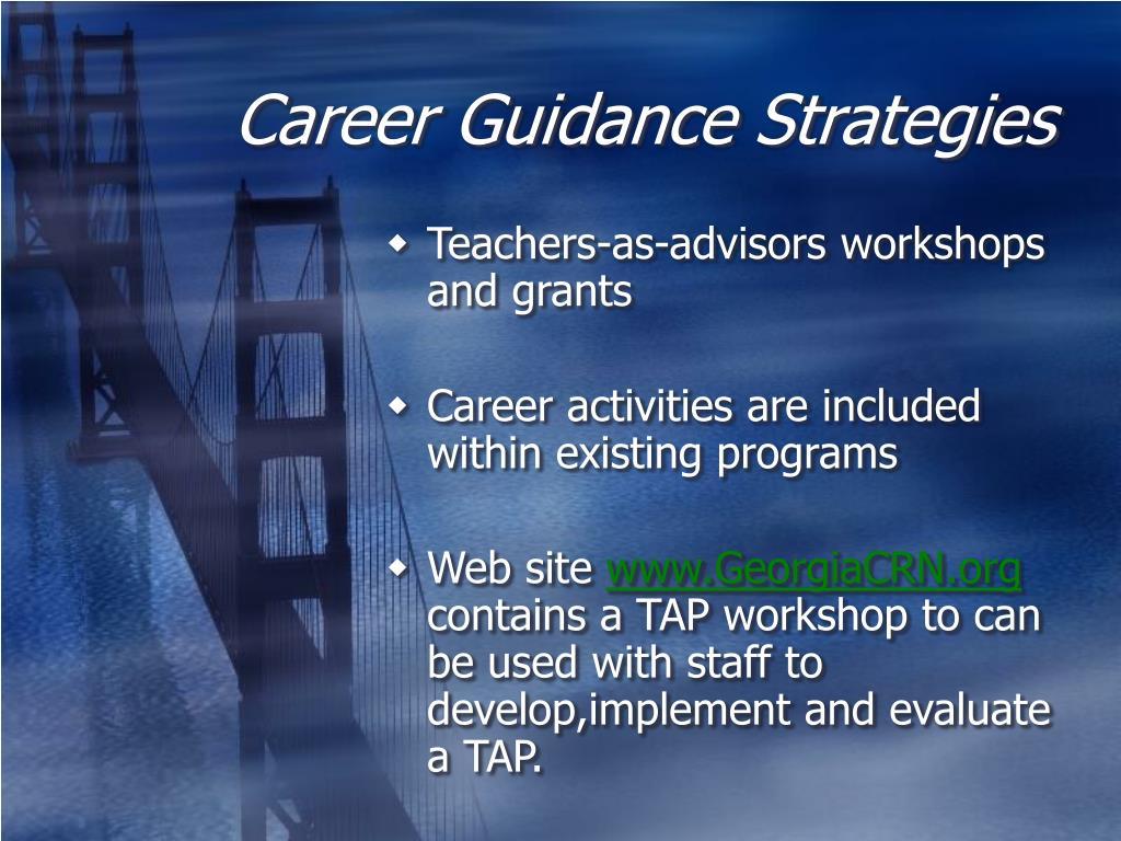 Career Guidance Strategies