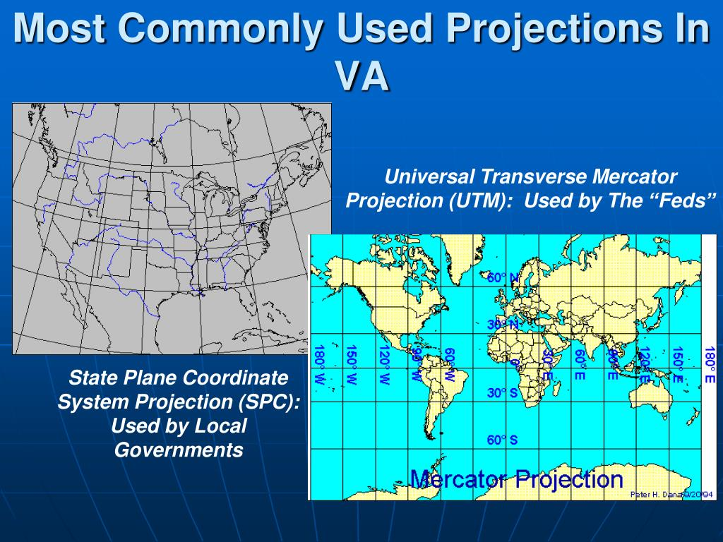 Most Commonly Used Projections In VA