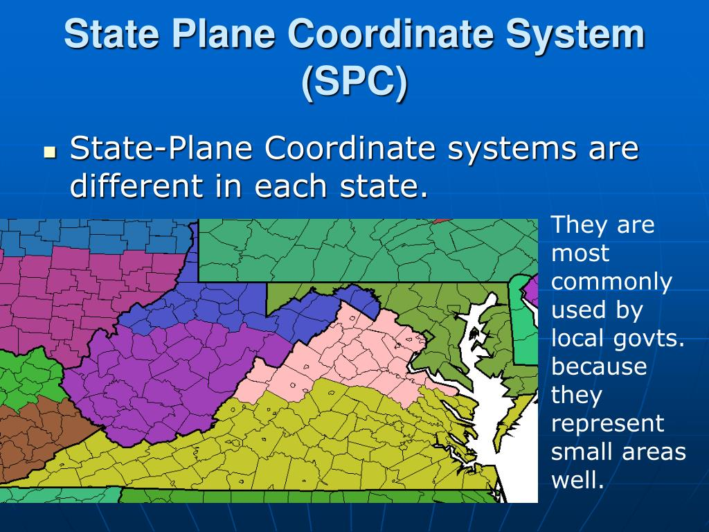 State Plane Coordinate System (SPC