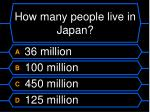 how many people live in japan