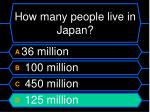 how many people live in japan16
