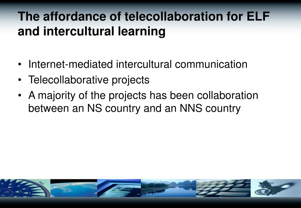 The affordance of telecollaboration for ELF and intercultural learning