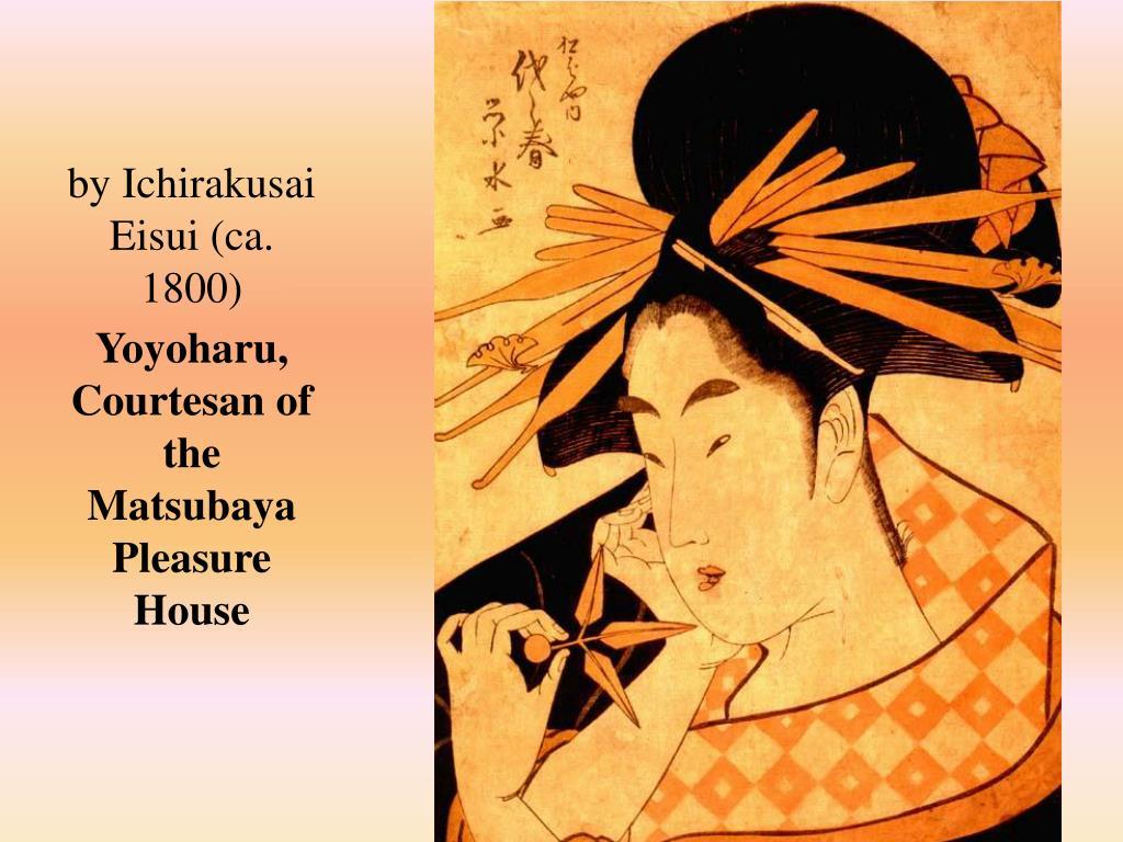 by Ichirakusai Eisui (ca. 1800)