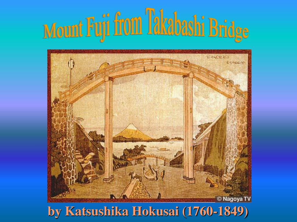 Mount Fuji from Takabashi Bridge
