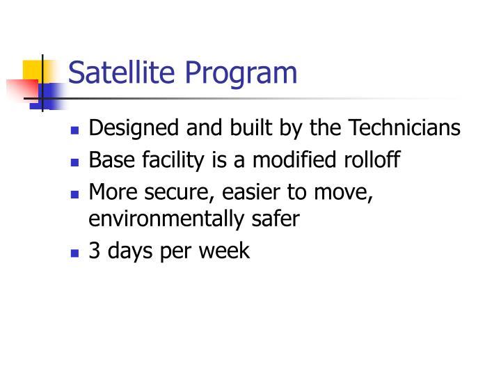 Satellite Program