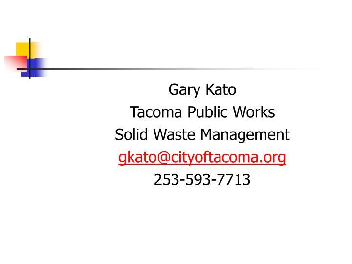 Gary Kato