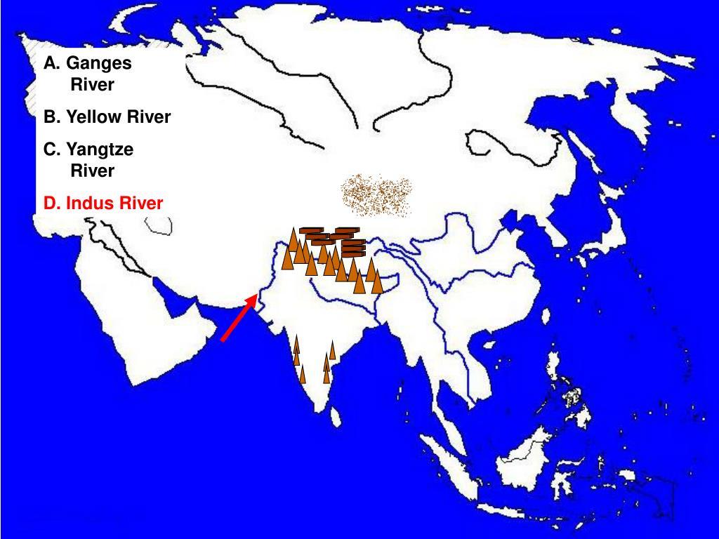 A. Ganges River
