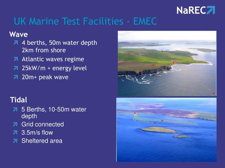 UK Marine Test Facilities - EMEC