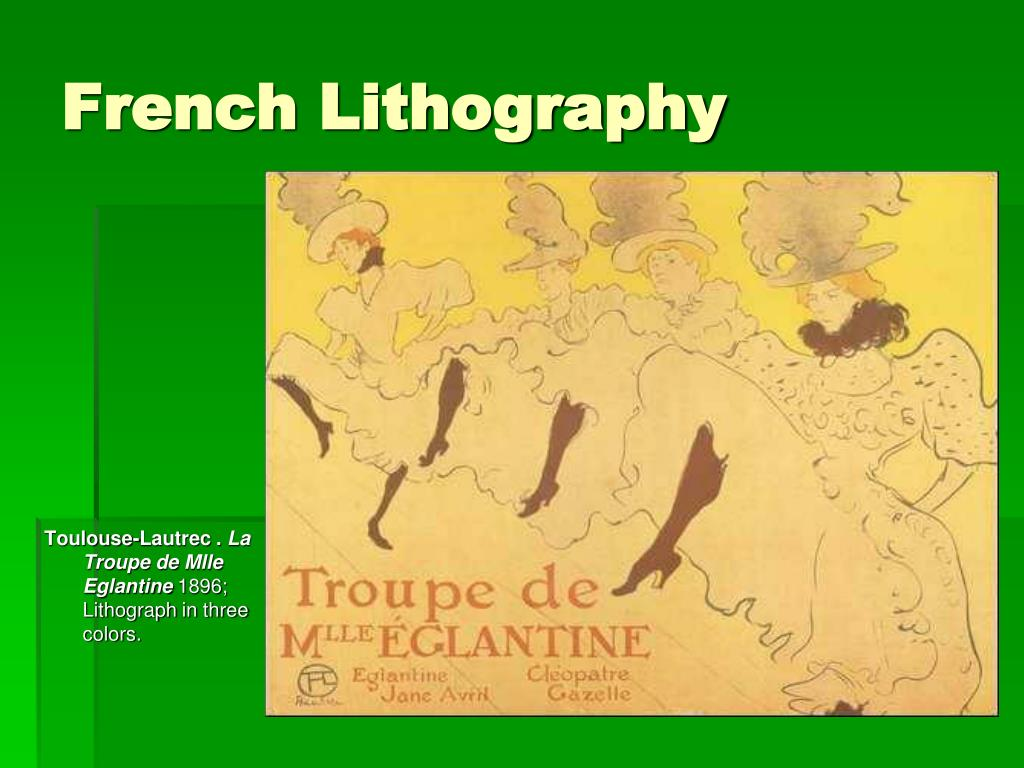 French Lithography