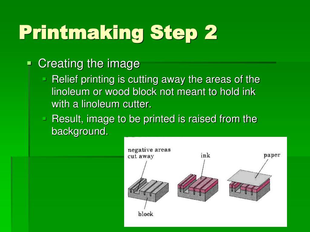 Printmaking Step2