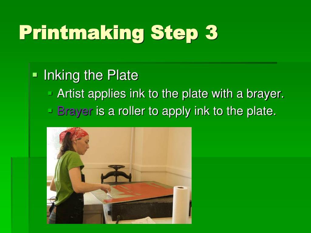 Printmaking Step3