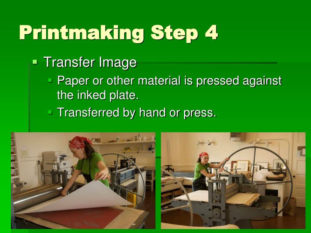 Printmaking Step4