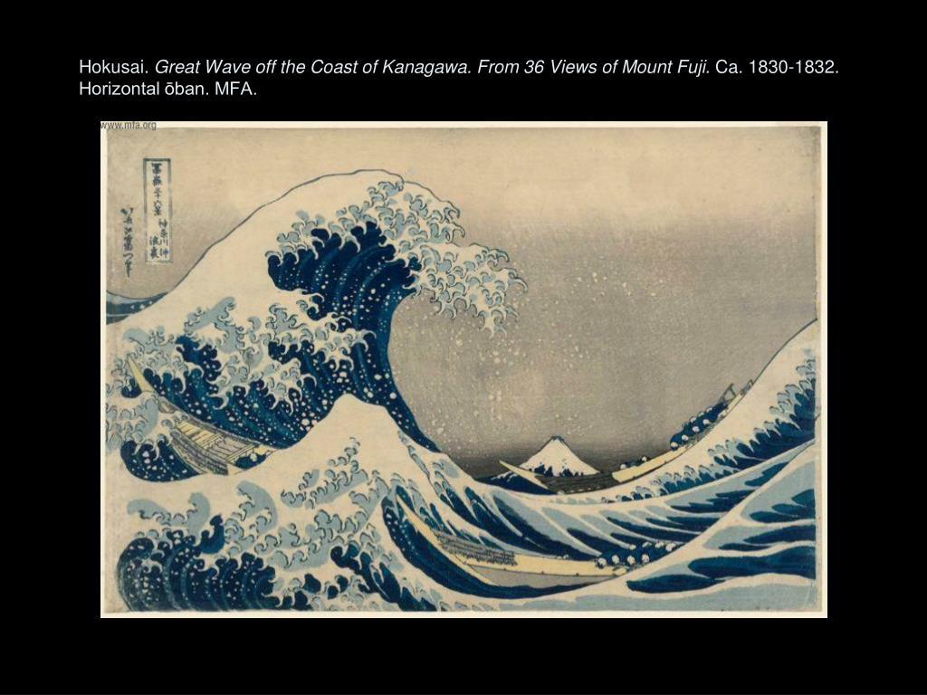 Hokusai.