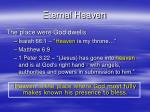 eternal heaven