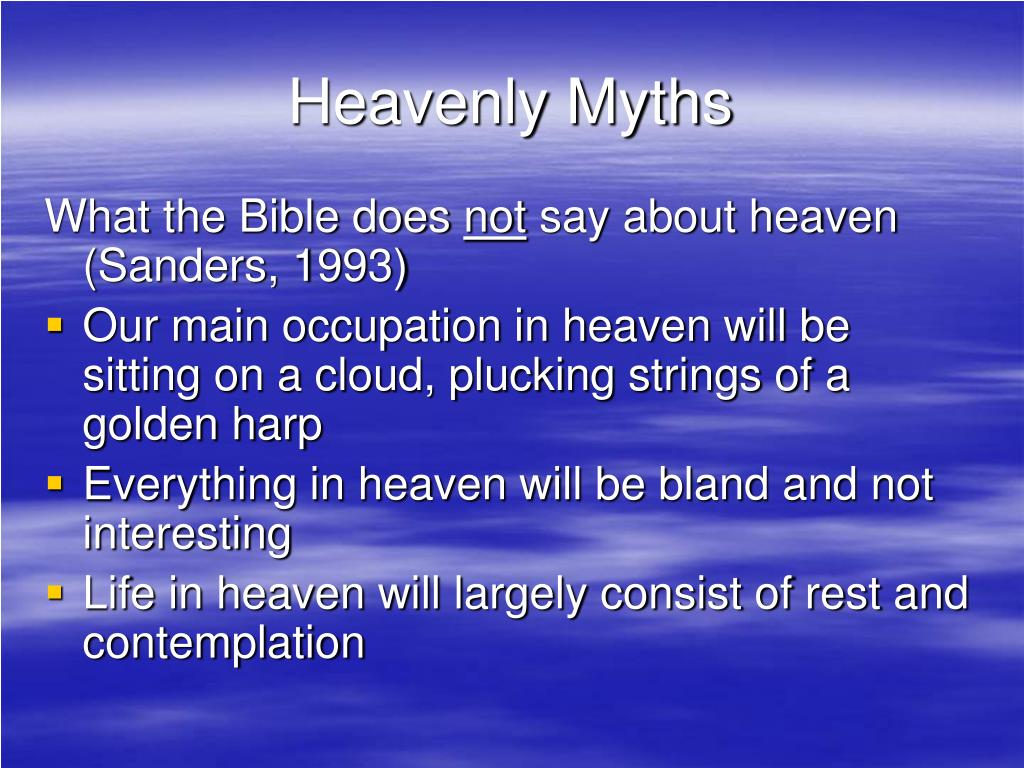 Heavenly Myths