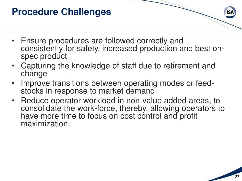 Procedure Challenges
